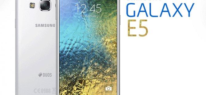 Galaxy E5 İnceleme