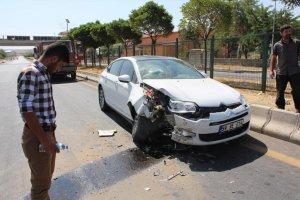 Güroymak'ta trafik kazası: 4 yaralı