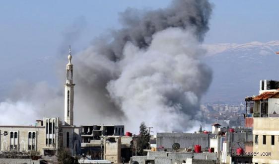Varil Bombaları Halepi Harabeye Çevirdi