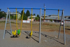 Muş'ta, çocuk oyun parkı tahrip edildi