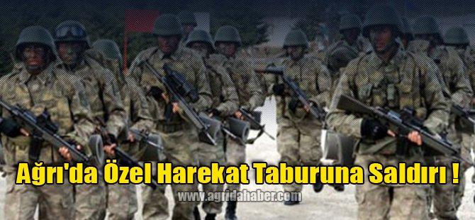 Ağrı Jandarma Özel Harekat Taburuna Saldırı !