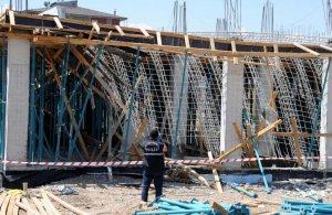 Erzurum'da inşaatta çökme: 3 yaralı