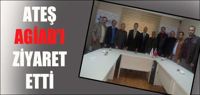Vali Yardımcısı Ercan Ateş AGİADI Ziyaret Etti