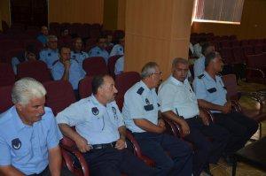 Erciş'te zabıtalarla toplantı