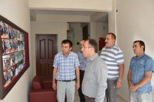 Çatak Kaymakamı Akgül, kurumları ziyaret etti
