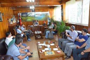 Bitlis Tabipler Odası'ndan Başkan Aksoy'a ziyaret