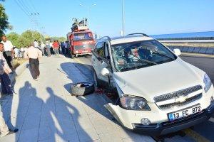 Adilcevaz'da trafik kazası: 5 yaralı