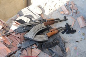 PKK Mardin'de Camiyi cephaneliğe çevirmiş