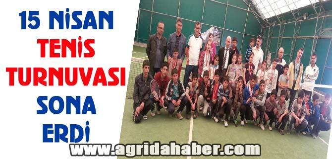 Kurtuluş Kupası Tenis Turnuvası Sona Erdi