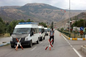Erzurum'da minibüse Terör saldırısı