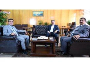 Başkan Çakır'dan Cumhuriyet Başsavcısı Yılmaz'a ziyaret
