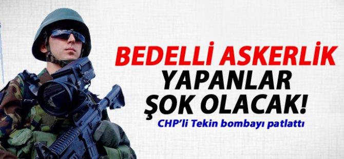 CHP'den bedelli askerlik yapanlara iptal uyarısı!