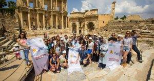 Öğrenciler Anadolu'nun binlerce yıllık tarihine hayran kaldı