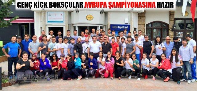 Genç Kick Boksçular Avrupa Şampiyonasına Hazır