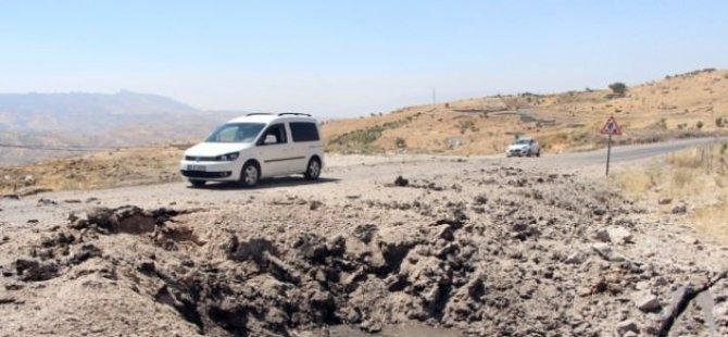 Şırnak Uludere'de askeri araca bombalı tuzak