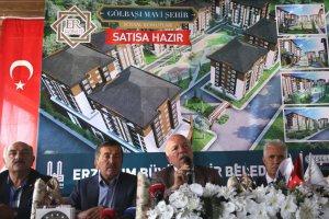 Erzurum'da 'Mavi Şehir Projesi' hayata geçiyor