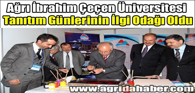Ağrı İbrahim Çeçen Üniversitesi Tanıtım Günlerinin İlgi Odağı Oldu