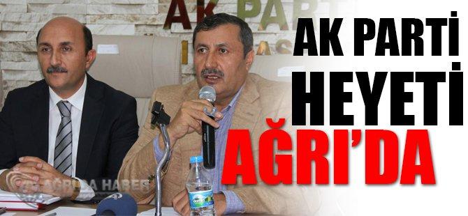 AK Parti heyeti Ağrı'da