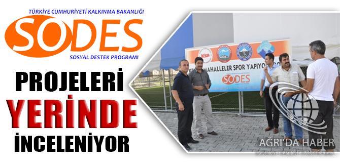 SODES 2012 Projelerini Yerinde İnceliyor