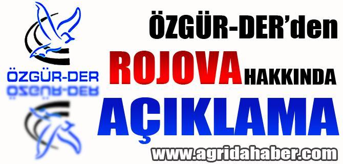 Özgür-Der'den Rojava Hakkında Açıklama