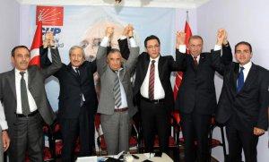 CHP'nin Erzurum milletvekili adayları kamuoyuna tanıtıldı.