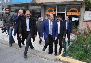 Erzurum AK Parti Milletvekili adayı ve eski Sağlık Bakanı Recep Akdağ