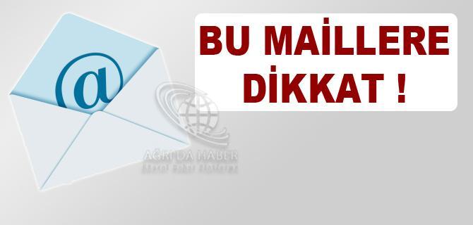 EN TEHLİKELİ 3 E-MAİL!