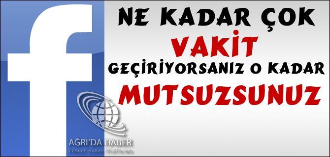 FACEBOOK A DİKKAT !