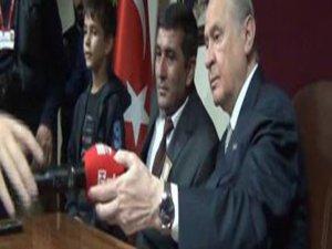 Devlet Bahçeli:TRT'nin Mikrofonunu Kaldırdı