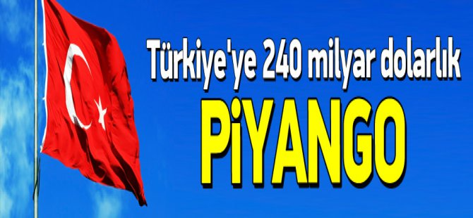 Türkiye'ye Suudi Arabistan 240 milyar dolarlık piyango
