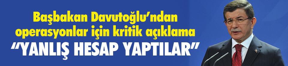 Ahmet Davutoğlu Sur ve Cizre Bir Kaç Güne Temizleneceğini Söyledi