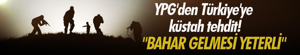 Silah Gücü Olan YPG'den Türkiye'ye küstah tehdit!