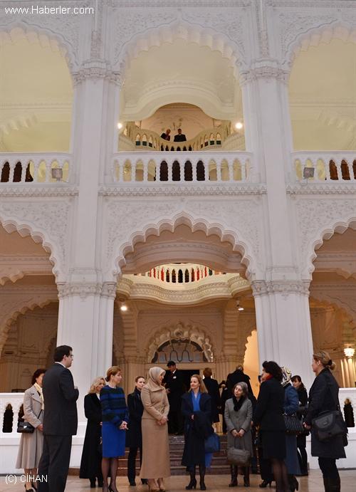 Hayrünnisa Gül, Sanat Müzesini Gezi