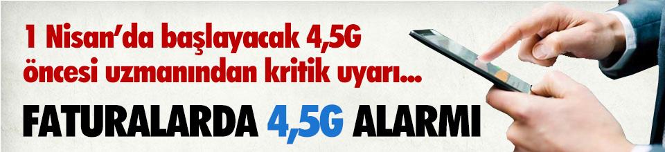 4,5G İçin Geri sayım başladı ! Milyonlarca gsm abonesine kritik uyarı