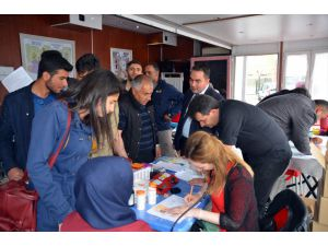 Sarıkamış'ta Kan Bağışı Kampanyası