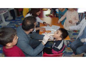 Kağızman'da Öğrencilere Ağız Diş Sağlığı Eğitimi Verildi
