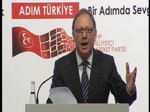 Süleyman Servet Sazak, Mhp Başkan Adaylığını Açıkladı