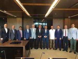 Spor Toto 2 Ve 3. Lig Başkanlarından Demirören'e Ziyaret