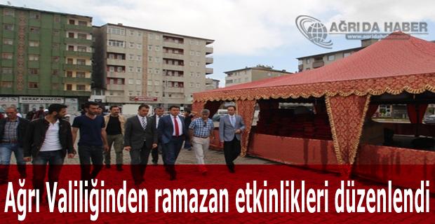 Ağrı Valiliğinden ramazan etkinlikleri düzenlendi
