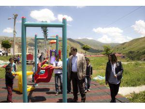 Yapımı Tamamlanan Park Hizmete Açıldı