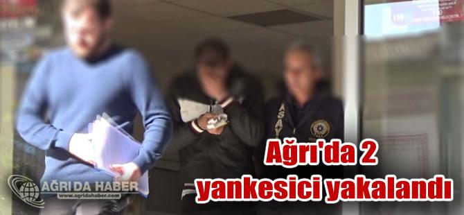 Ağrı ve Muşta Yankesicilik Yapan 2 Zanlı Patnos'ta Yakalandı
