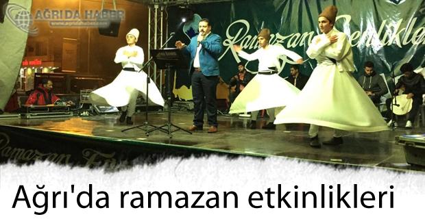Ağrı'da ramazan etkinliği