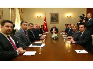 Başbakan Yıldırım, Tüsiad Heyetini Kabul Etti