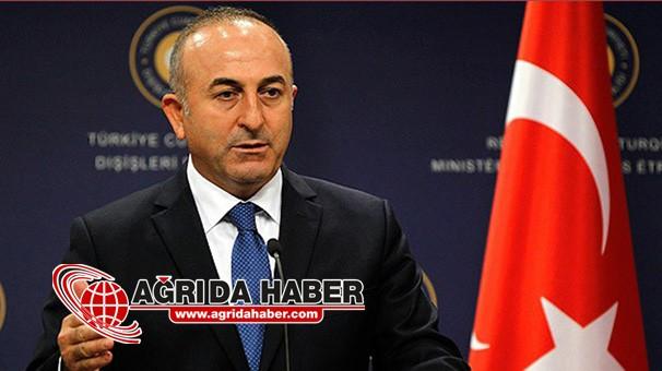 Dışişleri Bakanı Mevlüt Çavuşoğlu'nun Ağrı Programı İptal Edildi