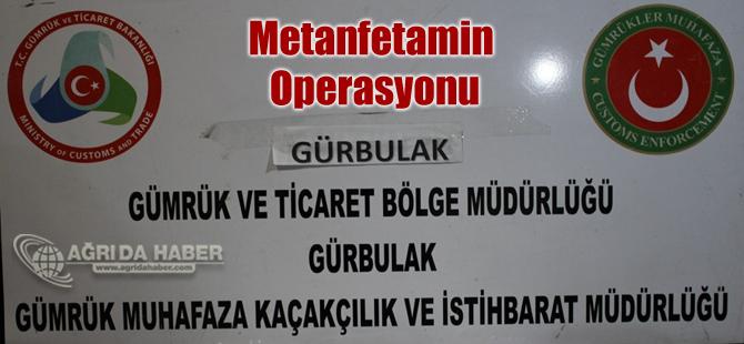 Doğubayazıt Gürbulak'ta Kapısında Metanfetamin Operasyonu