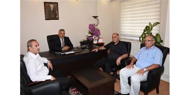 Malatya Tso Yönetim Kurulu Başkanı Hasan Hüseyin Erkoç'tan Msmmmo'ya Ziyaret