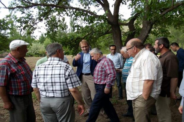 Malatya Valisi Toprak, Pütürge İlçesini Ziyaret Etti