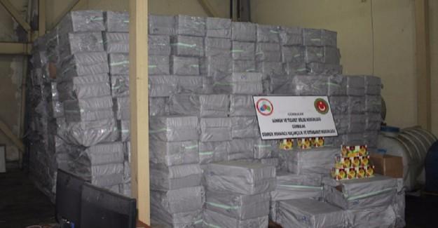 Ağrı'da Yaklaşık 20 Ton Kaçak Tütün Ele Geçirildi