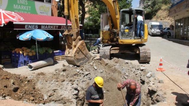 Bitlis'te Altyapı Çalışmaları