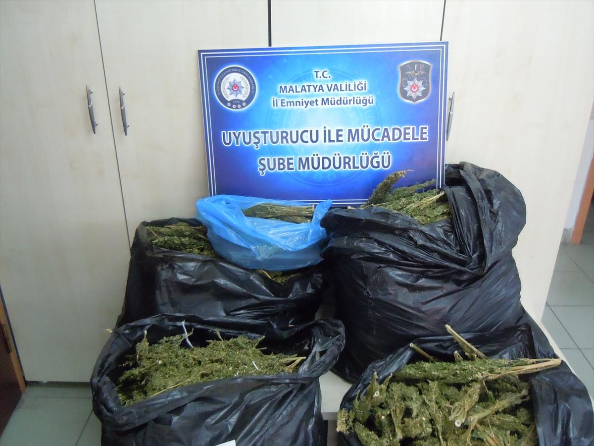 Malatya'da Uyuşturucu Operasyonu Yapıldı